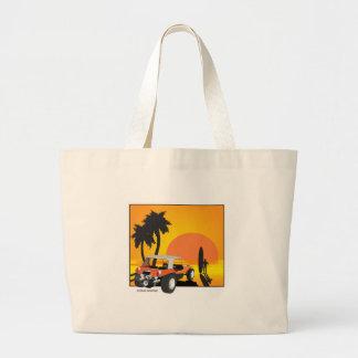 Carrinho e surfista bolsas para compras
