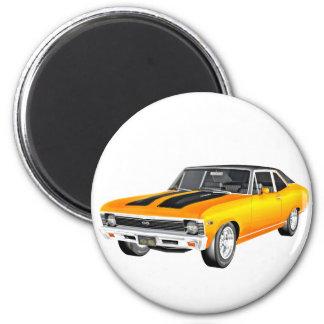 Carro 1968 do músculo do ouro imã