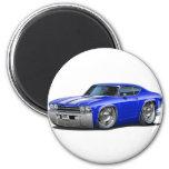 Carro 1969 Azul-Branco de Chevelle Ima