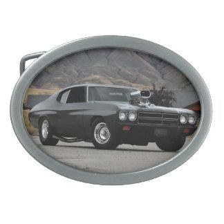 Carro 1970 do músculo do arrasto de Chevy Chevelle