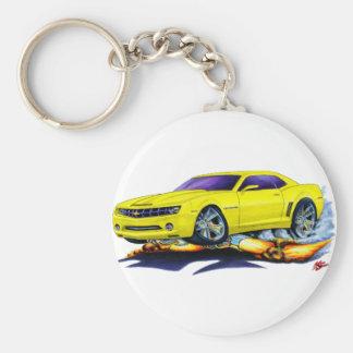 Carro 2010 amarelo de Camaro Chaveiros