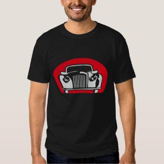 Carro antigo 09-2011 b 2c Black T-shirt