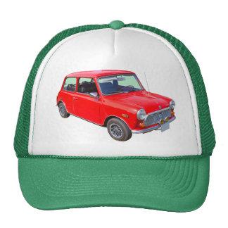Carro antigo vermelho de Mini Cooper Bone