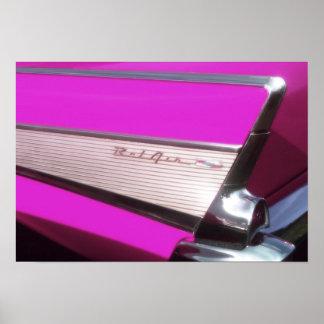 Carro clássico: Bel Air de Chevrolet Pôster