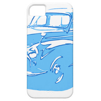 carro clássico capa barely there para iPhone 5