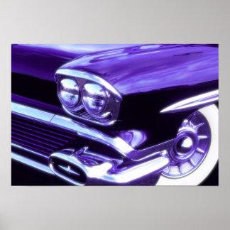 Carro clássico: Chevrolet 1958 Poster