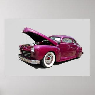 carro clássico pôsteres