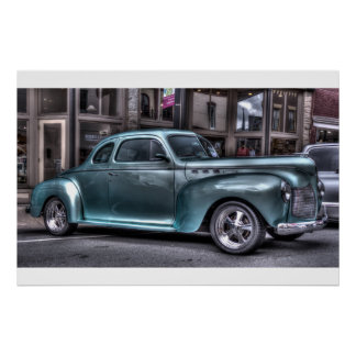Carro clássico poster