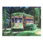 Carro da rua de Nova Orleães Cartao Postal