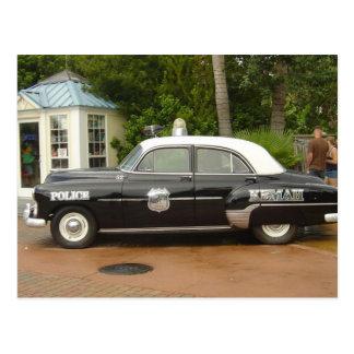 'Carro de 51 polícias de Chevrolet Cartão Postal