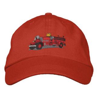 Carro de bombeiros antigo boné bordado