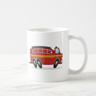 Carro de bombeiros caneca