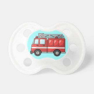 Carro de bombeiros chupeta para bebê
