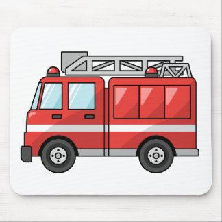 Carro de bombeiros legal/motor dos desenhos animad