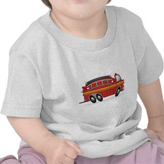 Carro de bombeiros t-shirt