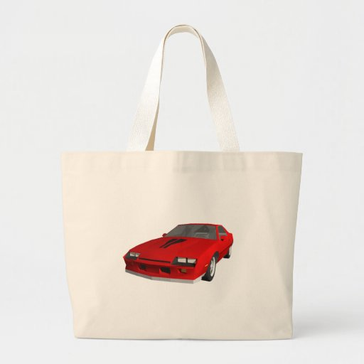 Carro de esportes clássico: modelo 3D: Bolsa Para Compra