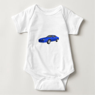 carro de esportes de Camaro do anos 80: modelo 3D: Body Para Bebê
