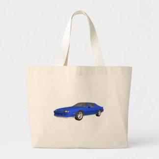 carro de esportes de Camaro do anos 80: modelo 3D: Sacola Tote Jumbo