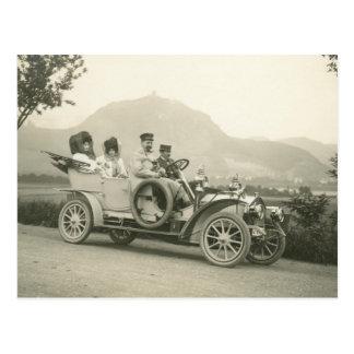 carro de turismo 1907 ou phaeton de c cartão postal