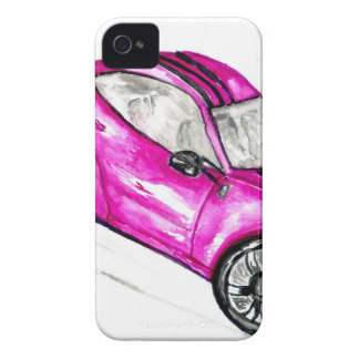 Carro desportivo Sketch2 Capa Para iPhone 4 Case-Mate