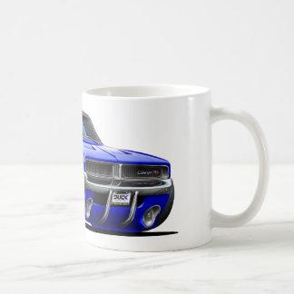 Carro do azul do carregador de Dodge Caneca De Café
