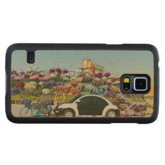 Carro do jardim do milagre de Dubai Case Slim De Bordo Para Galaxy S5
