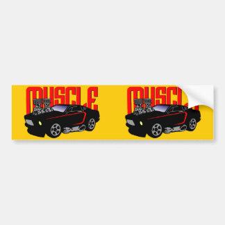 Carro do músculo de 341 desenhos animados adesivo para carro