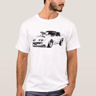 Carro do músculo de Chevrolet Corvette Camiseta