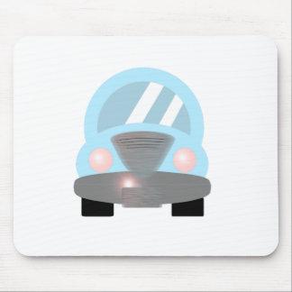 Carro dos azuis bebés mouse pad