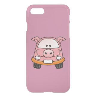 Carro dos desenhos animados do porco capa iPhone 7