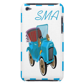 Carro feito sob encomenda dos desenhos animados do capa para iPod touch