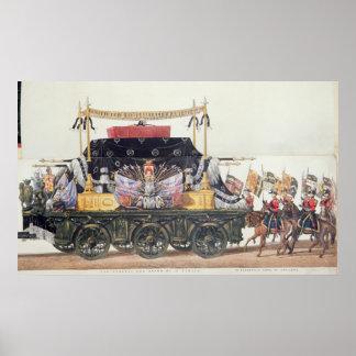 Carro fúnebre do duque de Wellington, 1853 Poster