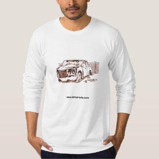 Carro oxidado camiseta