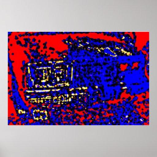 Carro Impressão