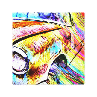 Carro velho pintado