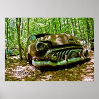 Carro velho poster