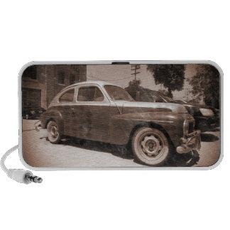 Carro vintage caixinhas de som para mini