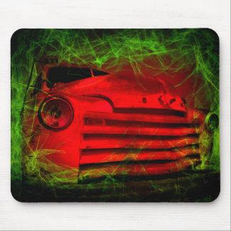 carro vintage possuído mousepad
