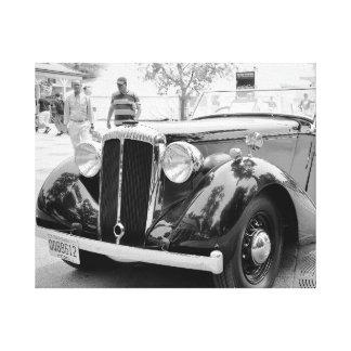 Carros clássicos em Saratoga Impressão Em Tela