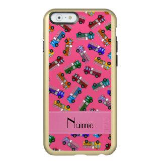 Carros de bombeiros cor-de-rosa conhecidos capa incipio feather® shine para iPhone 6
