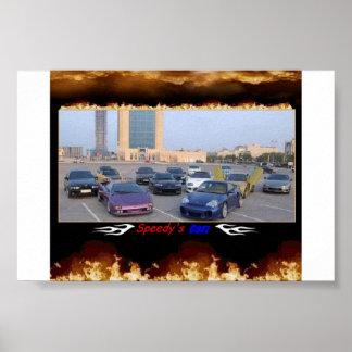 carros dos speedys poster