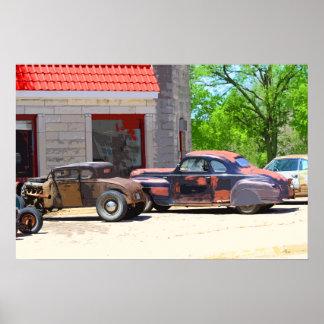 Carros usados realmente velhos posters