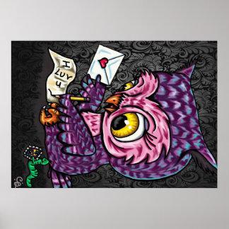Carta de amor da coruja pôster
