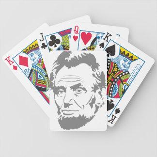 Carta De Baralho Abraham Lincoln