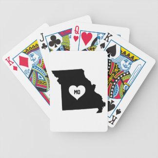 Carta De Baralho Amor de Missouri