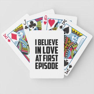 Carta De Baralho Amor no primeiro episódio