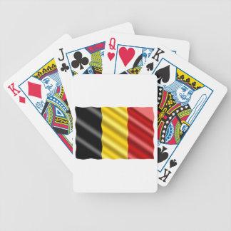 Carta De Baralho Bandeira de Bélgica