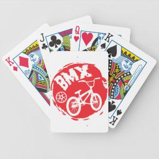 CARTA DE BARALHO BMX