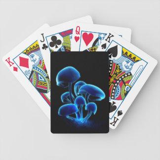 Carta De Baralho Cartões de jogo da fluorescência