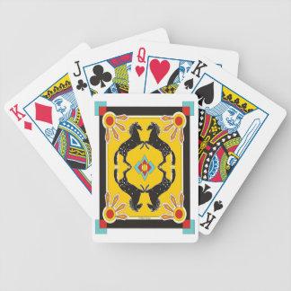 Carta De Baralho Cartões de jogo dos pôneis do sudoeste
